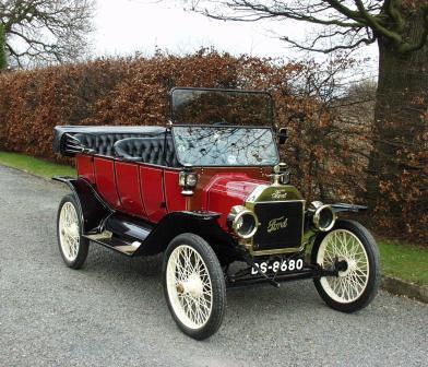 1913 Model T Ford Tourer