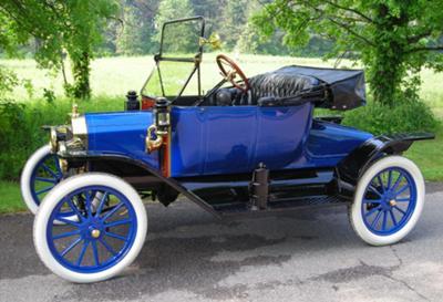Brent & Nancy Mize's 1913 Model T Runabout