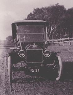1913 Tourer with Ford body