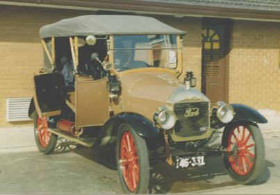 1913 Tourer fitted with restored