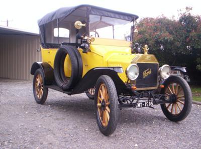 1916 Duncan & Fraser Model T Ford