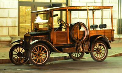 1920's Ford Model T Depot Hack
