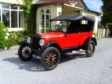 1926 Touring Car in Ireland