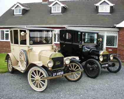 1914 & 1915 Model T Ford Centerdoor