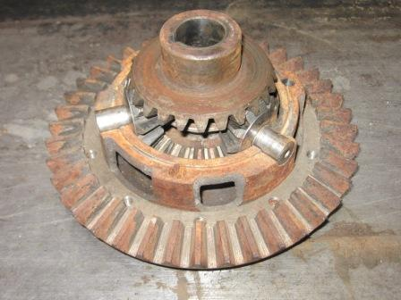 Diff with both axle gears and spider assembly