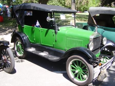 1926 Tourer owned by B&D Reddick, Victoria