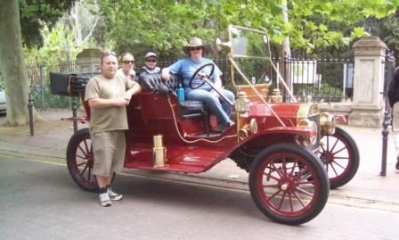 Early Australian Model T Ford Tourer