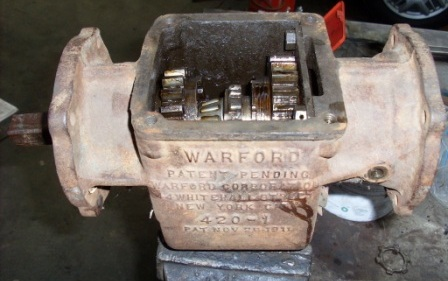 Warford Underdrive gearbox pre disassembly