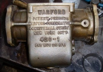 Warford gearbox casting