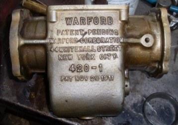 Warford gearbox casting