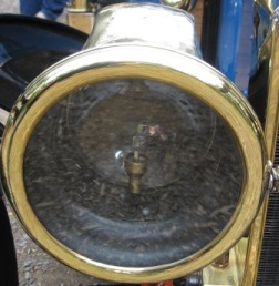 Brass Lamp fitted to a 1915 model