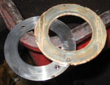 Model T Ford babbit thrust washers