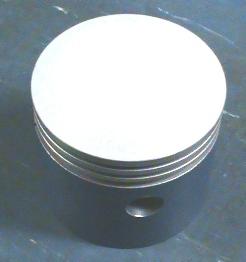 Ceramic coated Model T piston