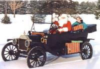 View Model T Ford photos at Christmas