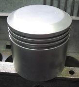 Cleaned Aluminium Model T Piston