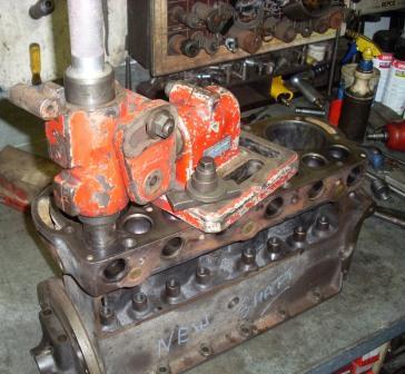 Preparing to cut the valve seat recess