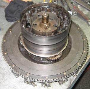 Dismantling the Model T Ford Transmission
