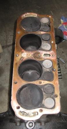 Leaking Model T Head Gasket