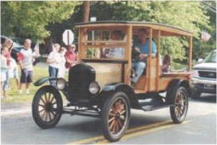 1925 Model T Ford Huckster