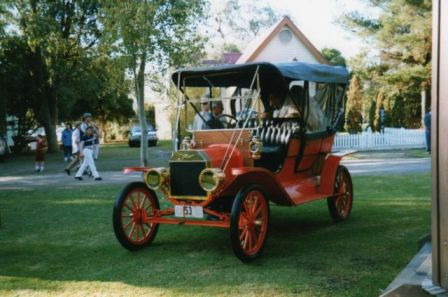 1910 Tourer owned by Bill Landy of Victoria
