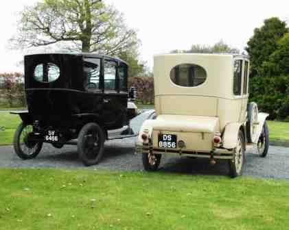 1914 & 1915 Model T Ford Centredoor rear