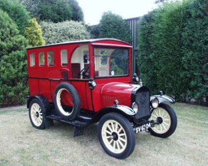 1927 Model T Van (car chassis)