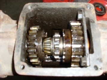 Warford underdrive gears