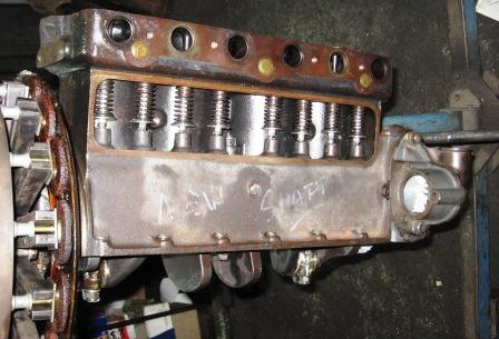 New Model T Ford valve gear